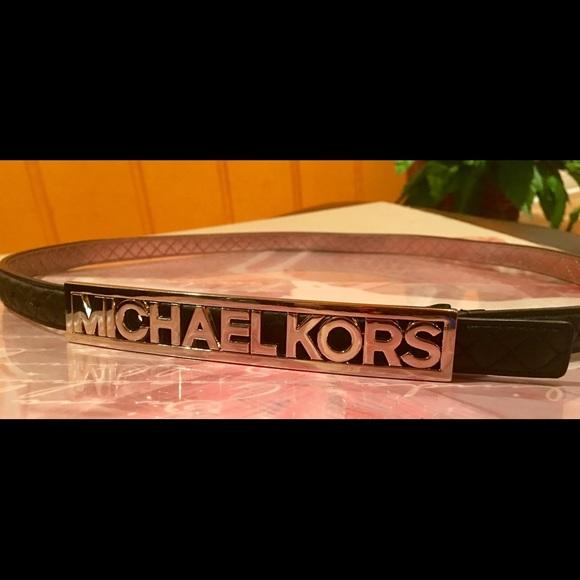 💋MK Name Plate Belt💋